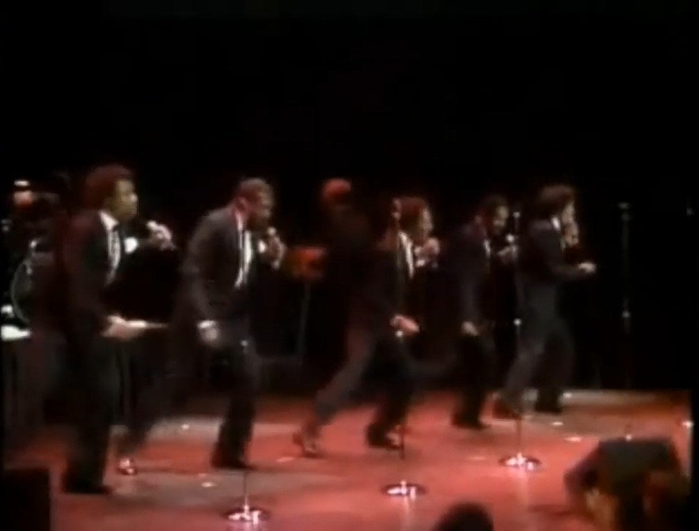 The Temptations perform at the Oscars