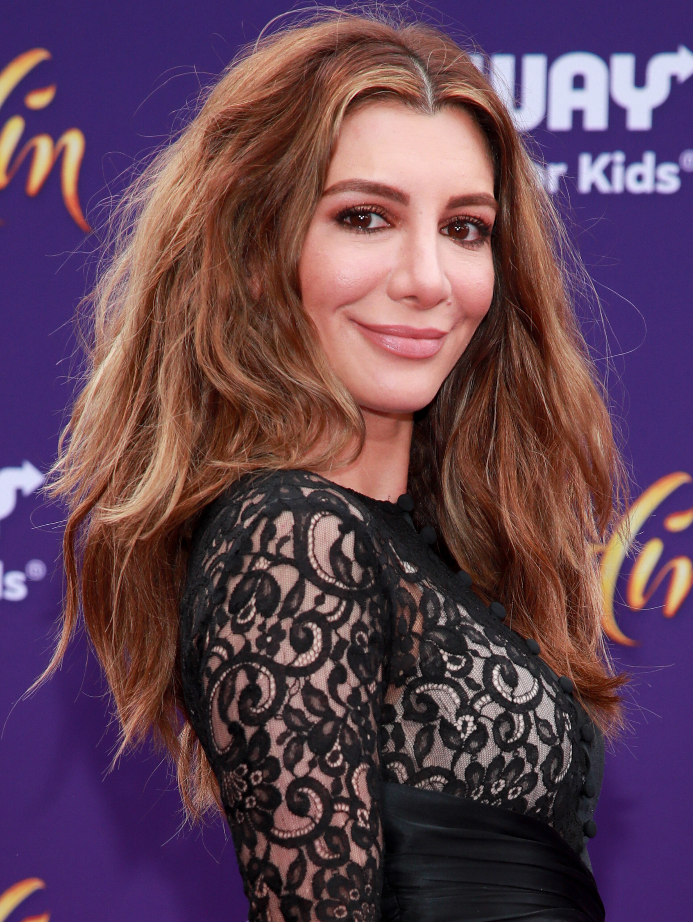 Nasim Pedrad at the Aladdin premiere