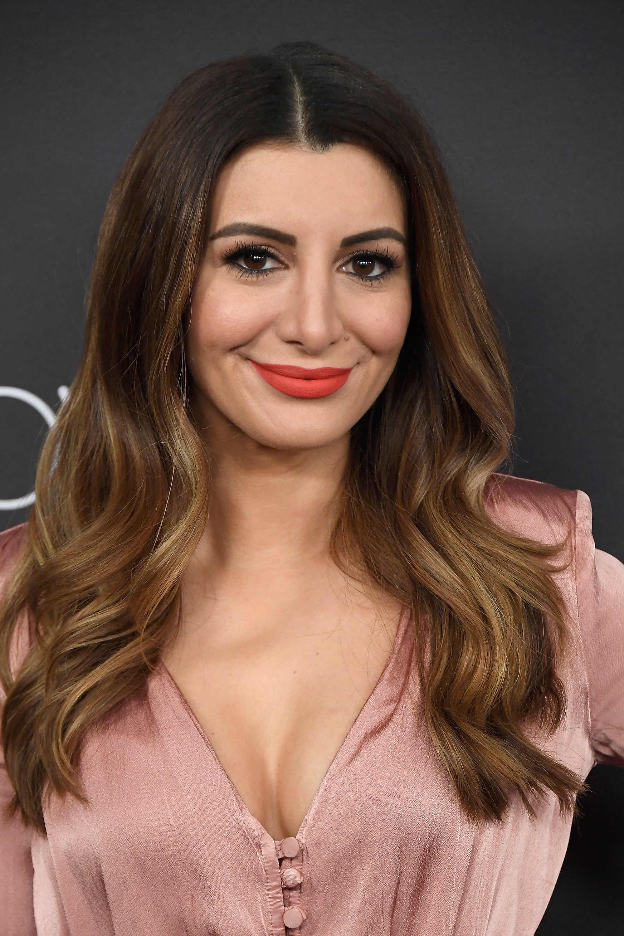 Nasim Pedrad on the red carpet