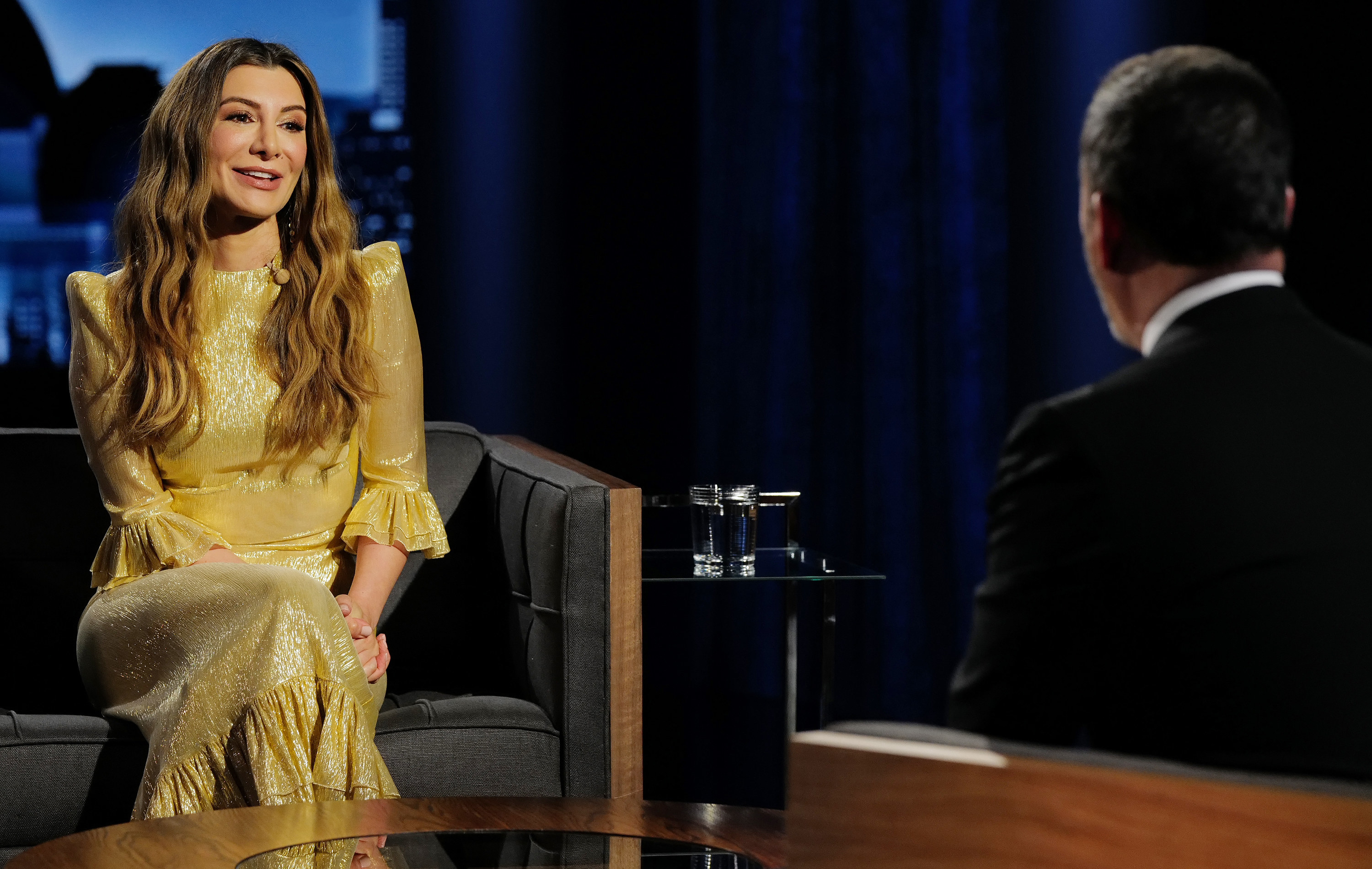 Nasim Pedrad on Jimmy Kimmel Live