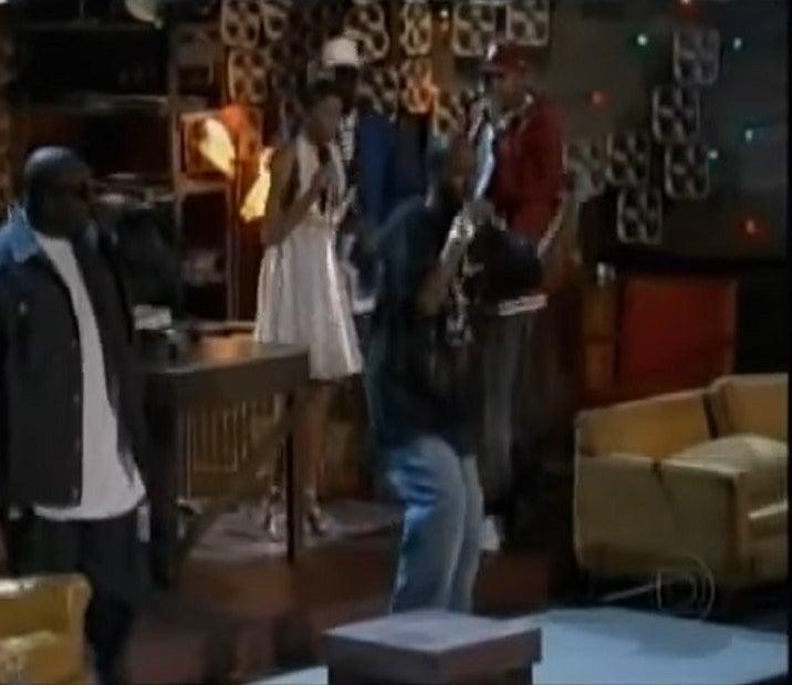 Taraji P. Henson and Three 6 Mafia perform at the Oscars