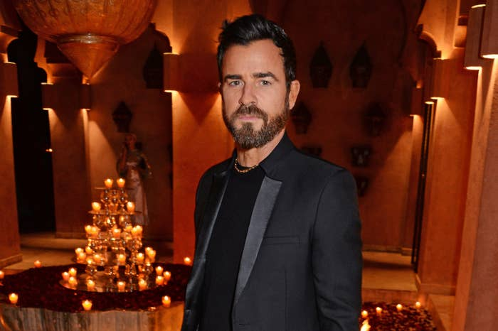 Justin Theroux at the Formula E Championship Dinner in 2019
