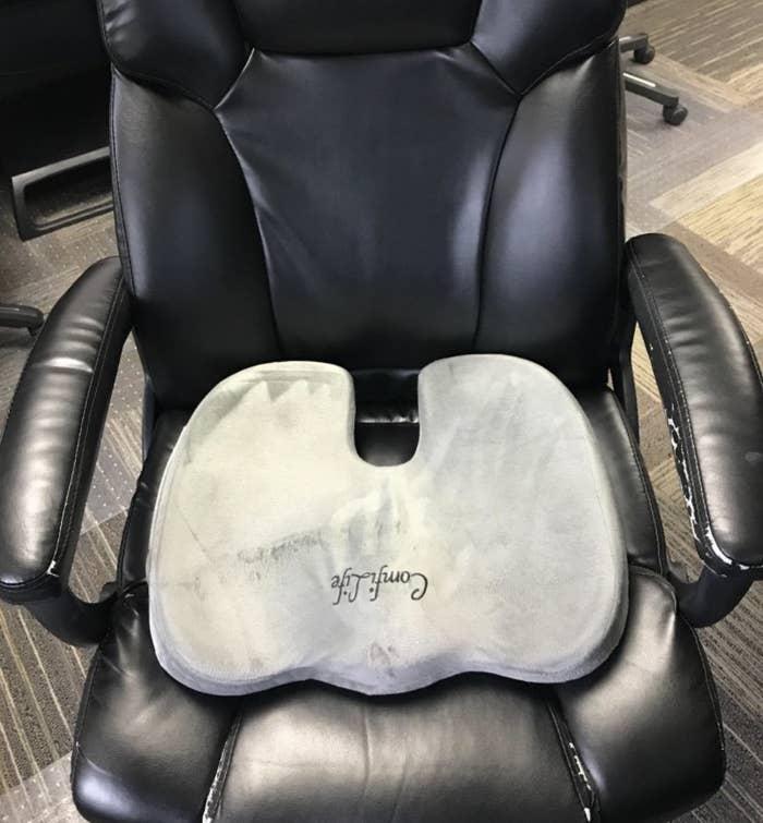 A seat cushion
