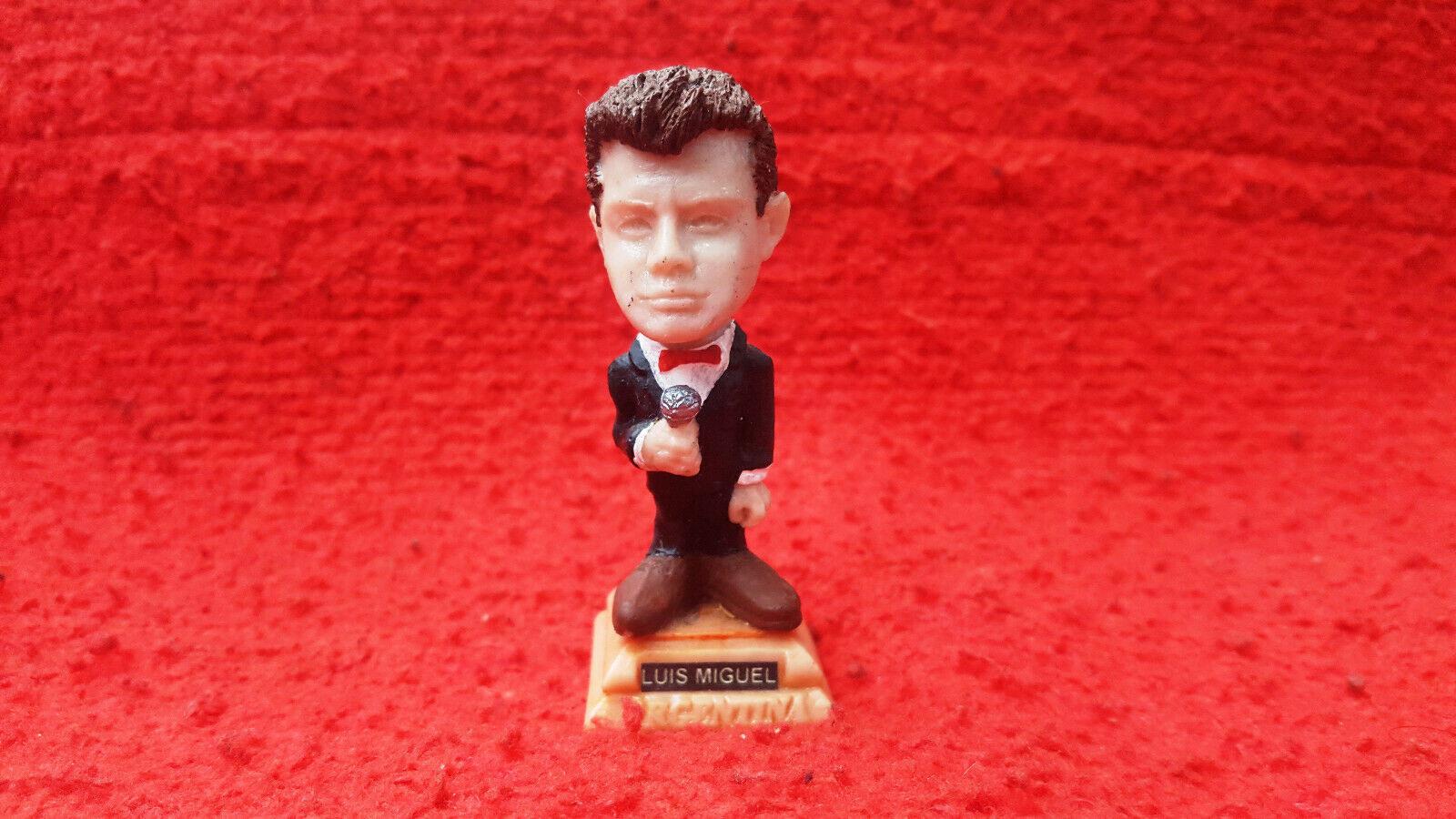 The Luis Miguel miniature figurine