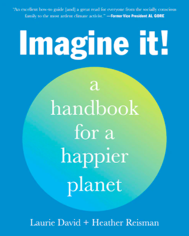 The cover of Imagine It: a handbook for a happier planet
