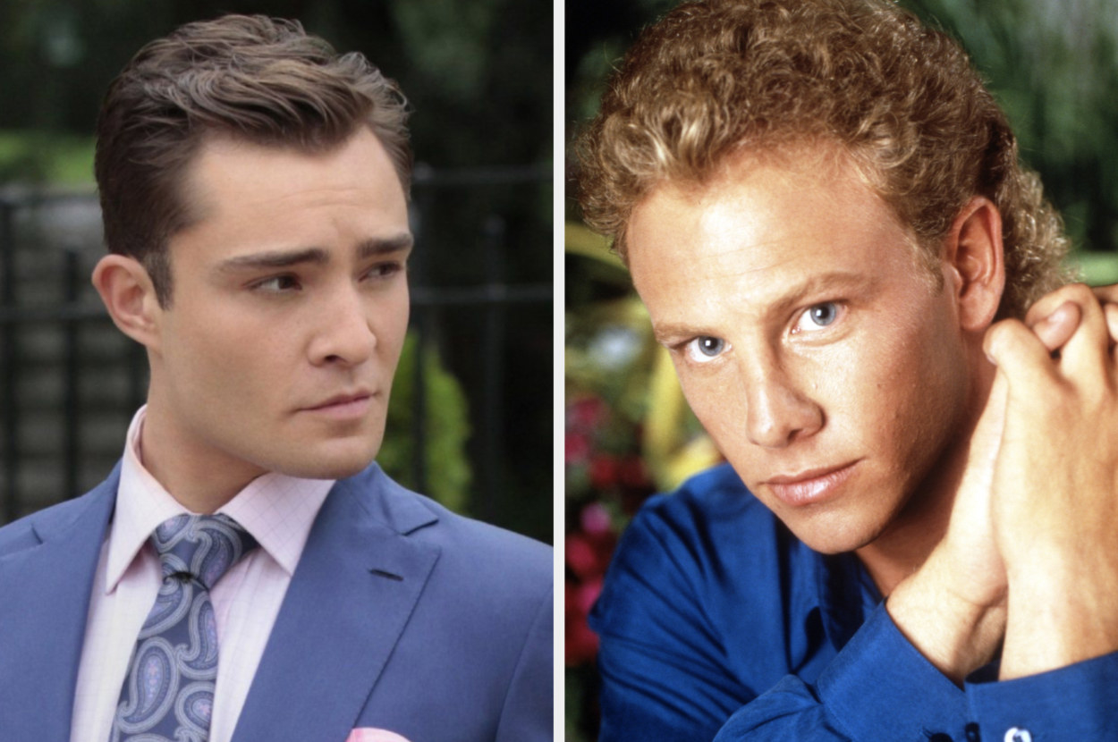 Ed Westwick and Ian Ziering