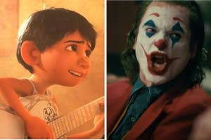 Coco side by side with Joker