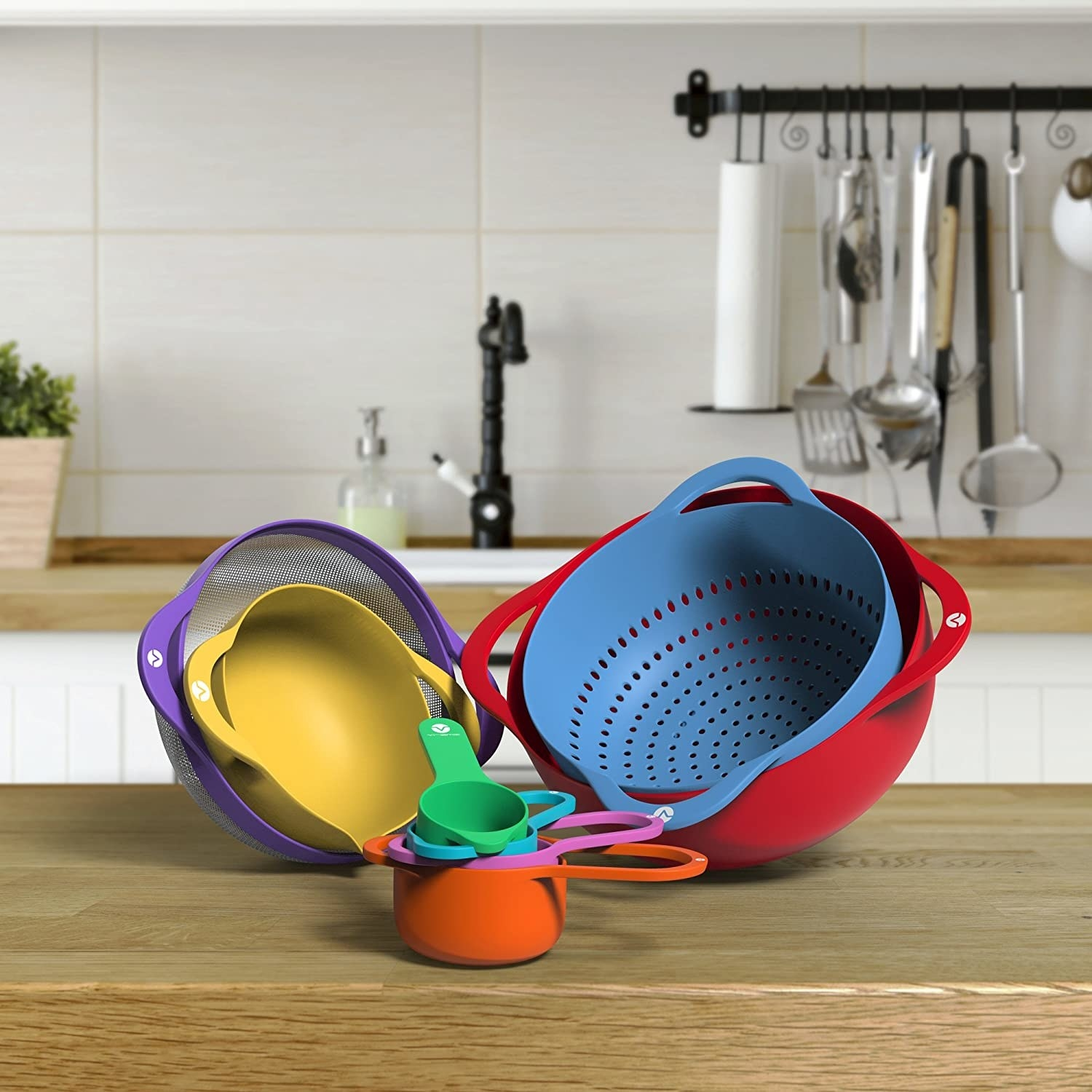the set of baking tools