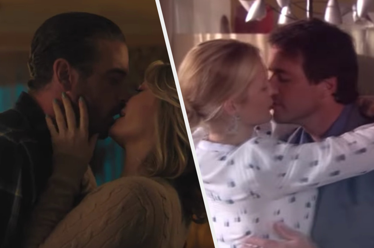 FP and Alice kissing, then Lily and Rufus kissing