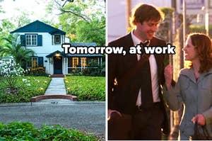 tomorrow, at work