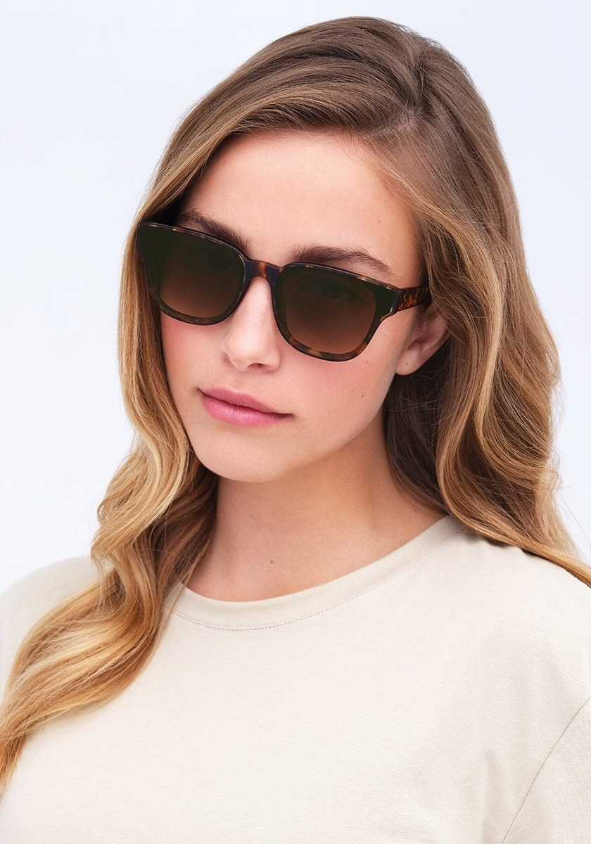 A person wearing the shades