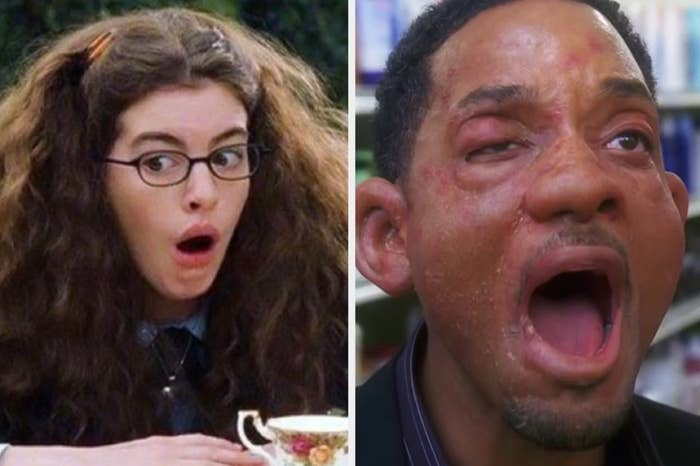 "Mia Thermopolis in ""The Princess Diaries"" and Hitch in ""Hitch"""