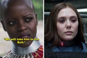 "Ayo saying, ""We will take him to the Raft"" vs Wanda at the Raft"