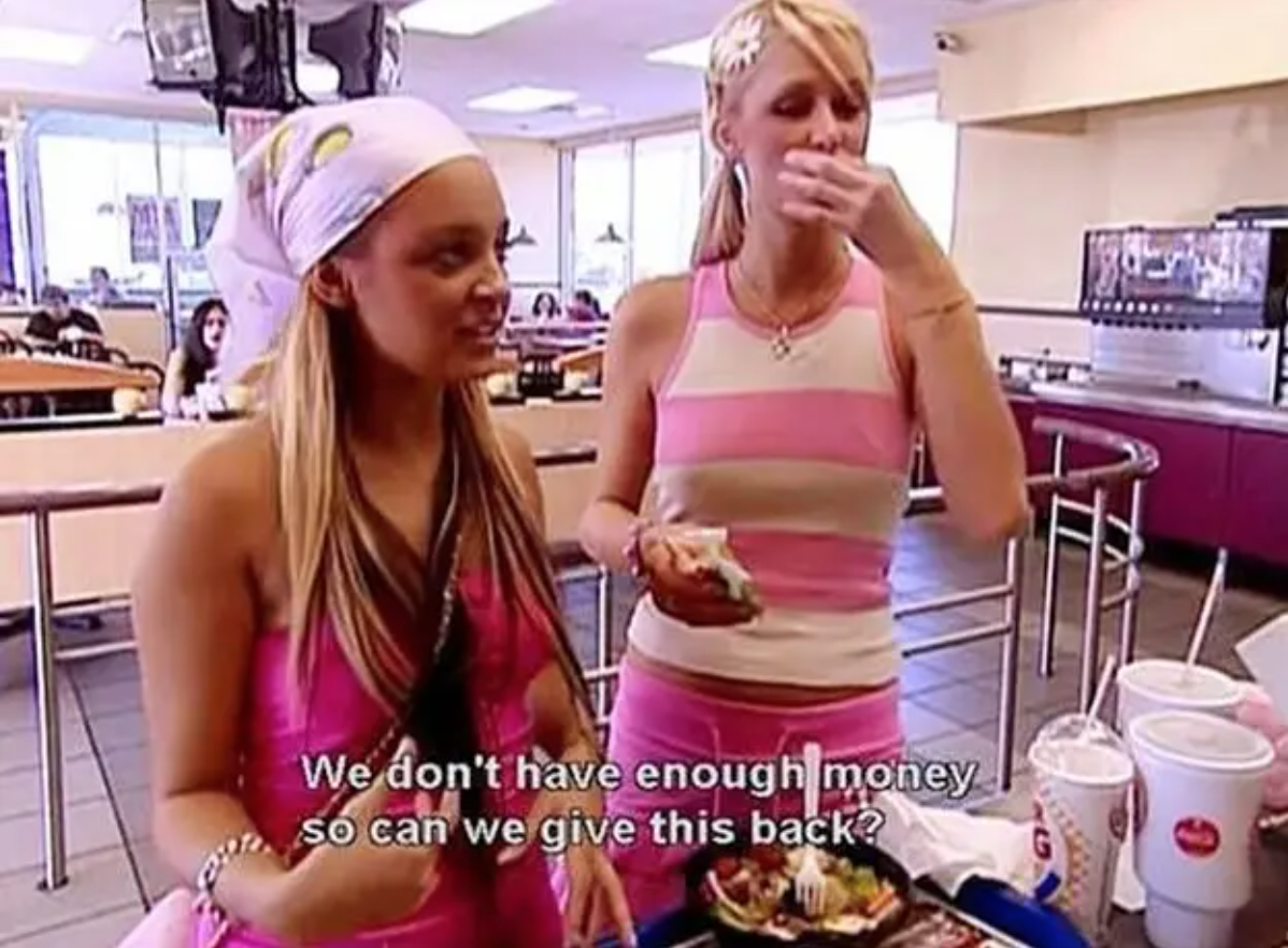 """Nicole and Paris on """"The Simple Life"""""""