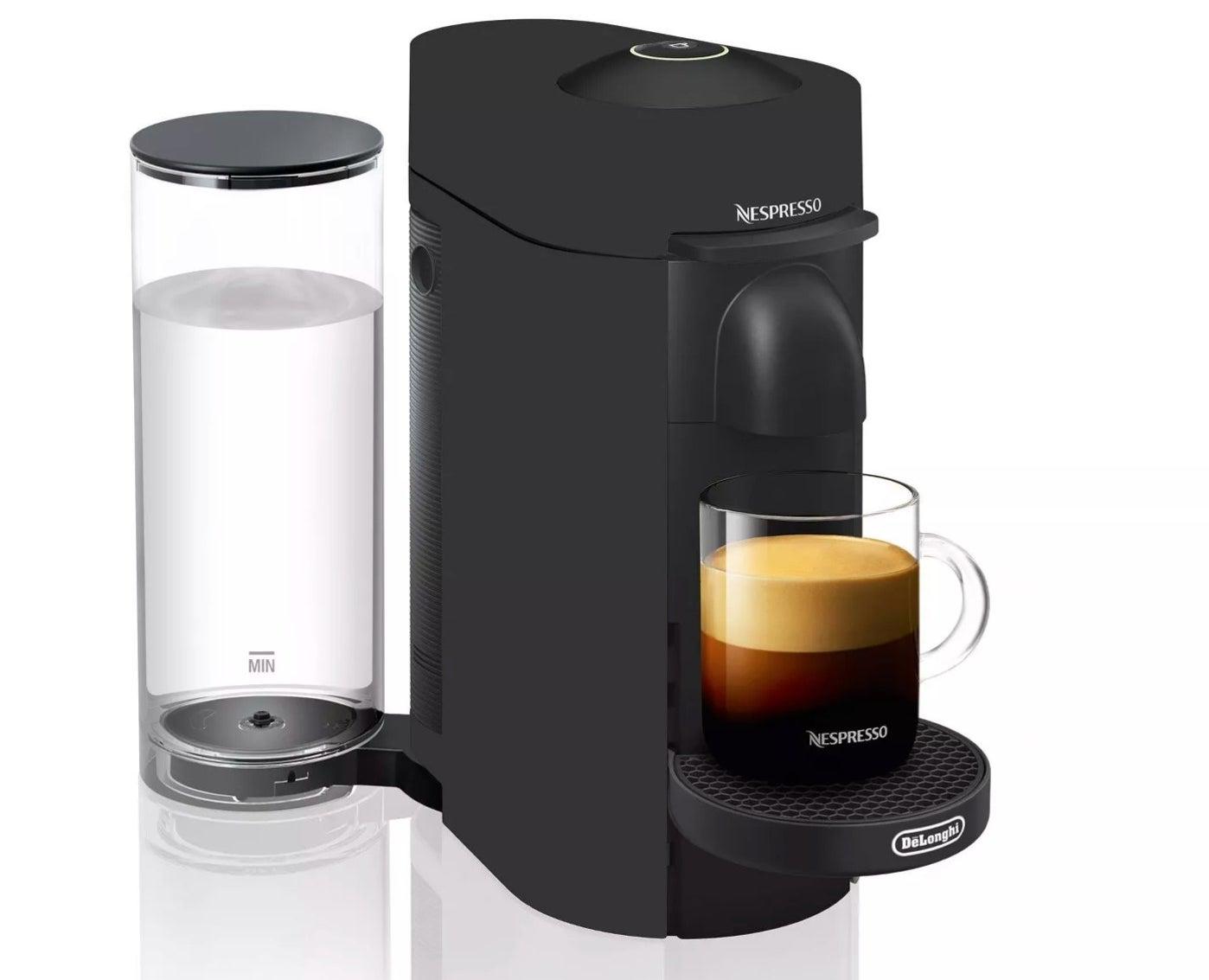 The Nespresso machine