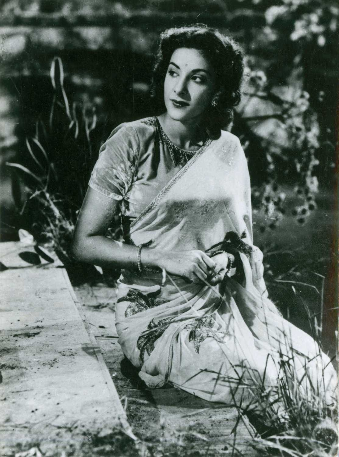 film still of Nargis when she was young