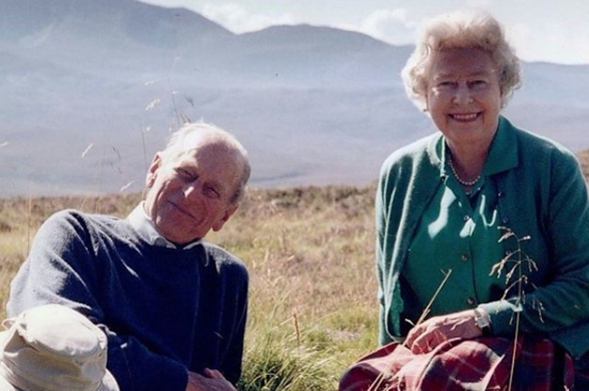 Queen Shares New Photo Of Her And Husband Prince Philip In Scotland