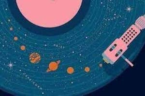 An image of a record player.