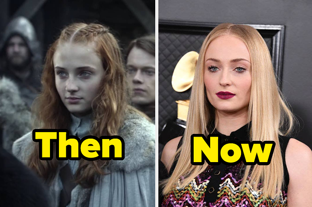 """Here's What The """"Game Of Thrones"""" Cast Looked Like In The Pilot Vs. Now"""