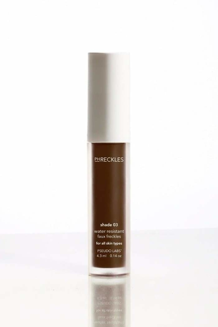 Faux Freckle cosmetic product.