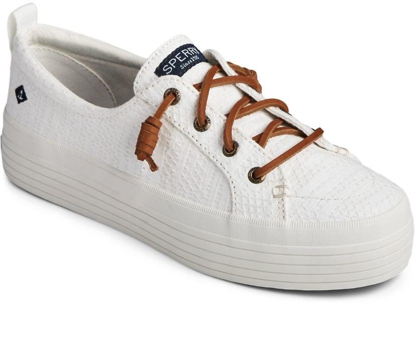 Sperry platform shoes.