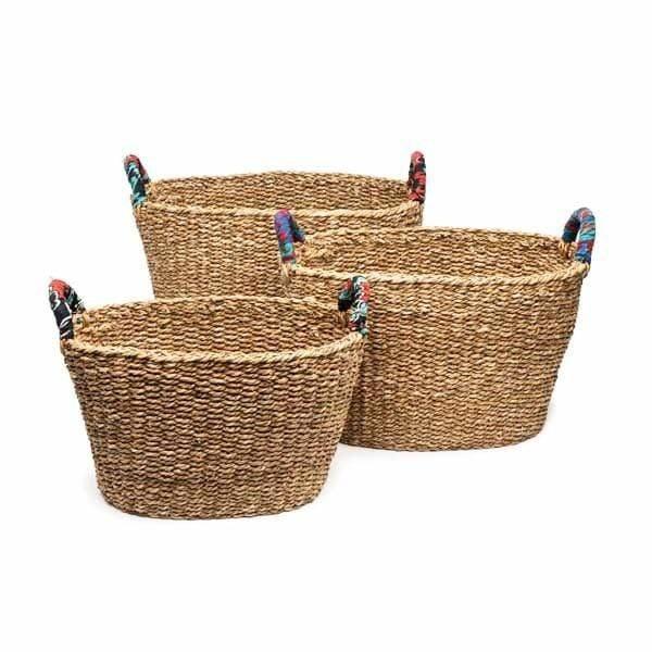 3 baskets.