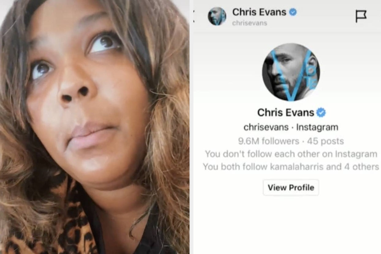 Lizzo Posted A Super Funny TikTok Where She Drunkenly Messaged Chris Evans, And It Speaks To Me