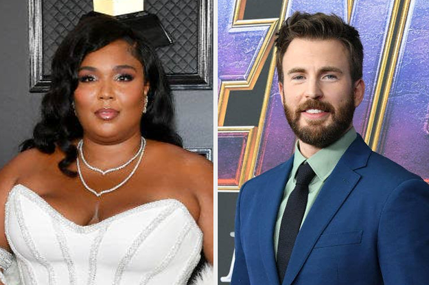 Lizzo Drunkenly DMing Chris Evans Is The Content I Needed Today