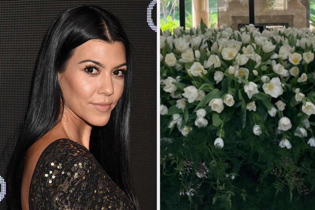 Travis Barker Gave Kourtney Kardashian A Floral Arrangement For Her Birthday, And I've Never Seen Anything Quite Like It