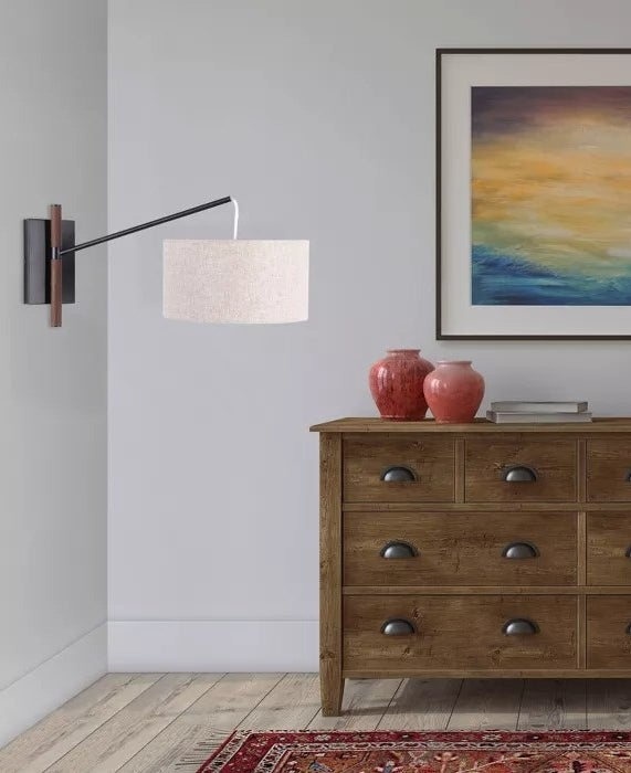 The swing-arm wall light