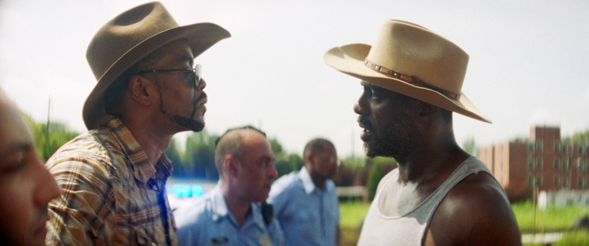 Method Man confronts Idris Elba