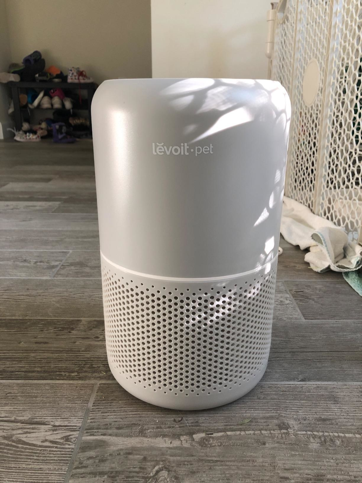 Review photo of the air purifier