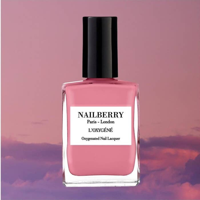 A bottle of nail polish