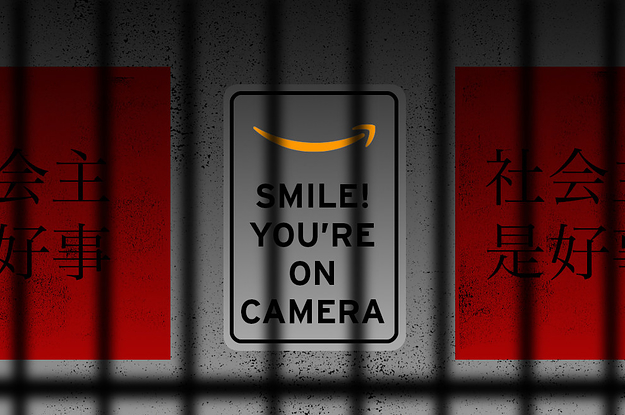 "This Company Monitors Prisoners In Xinjiang. It Won An ""Innovation"" Award At An Event Sponsored By Amazon."