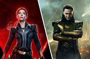 Black Widow and Loki gearing up for their upcoming solo movies