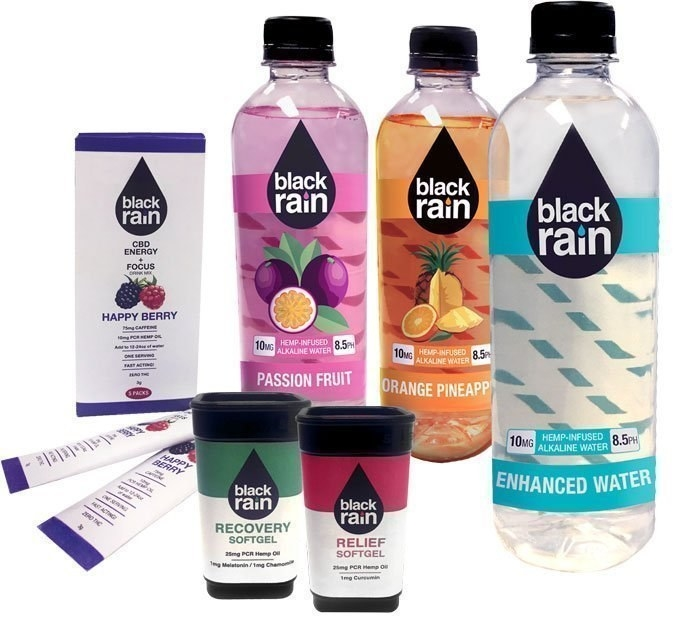 Black Rain CBD products