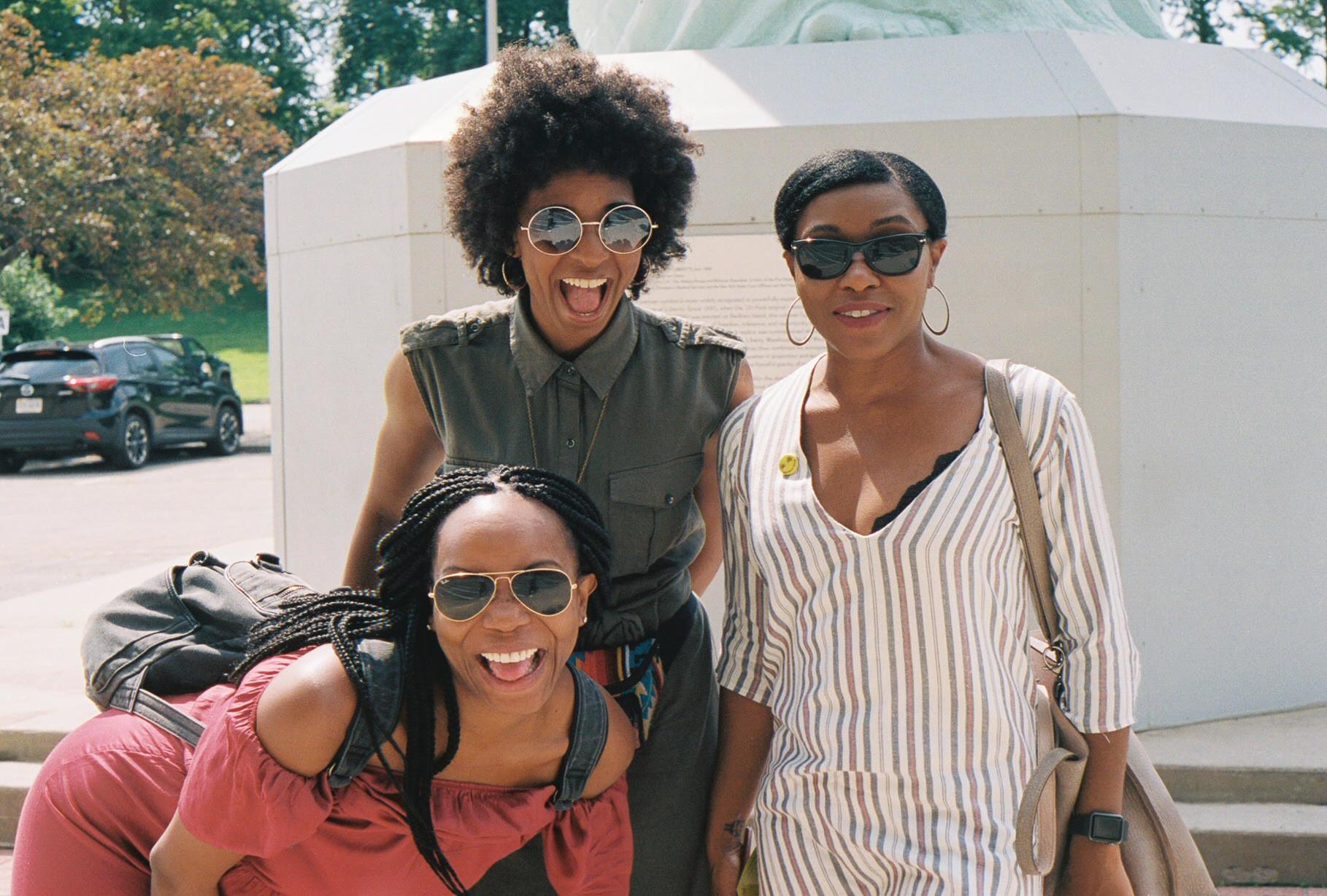 Kali Wilder, Safon Floyd, and Sirita Wright