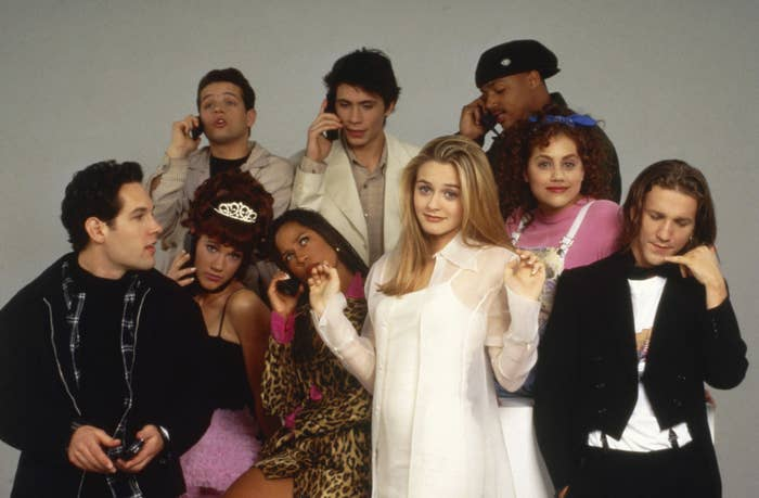 The cast of Clueless in a promo shot