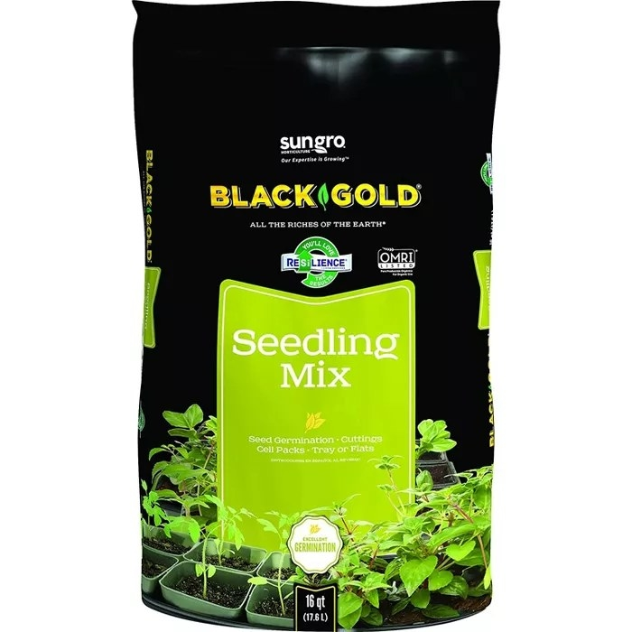 The seedling mix