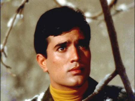 Film still of young Rajesh