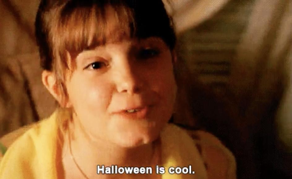"Kimberly saying ""Halloween is cool"" in Halloweentown"