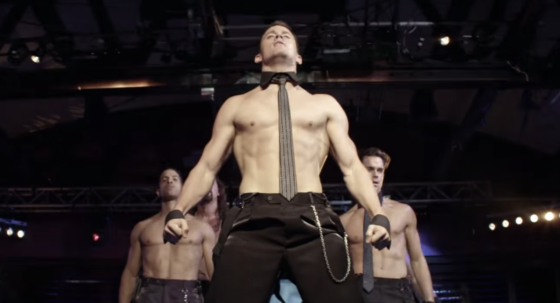 """Channing Tatum stripping in """"Magic Mike"""""""