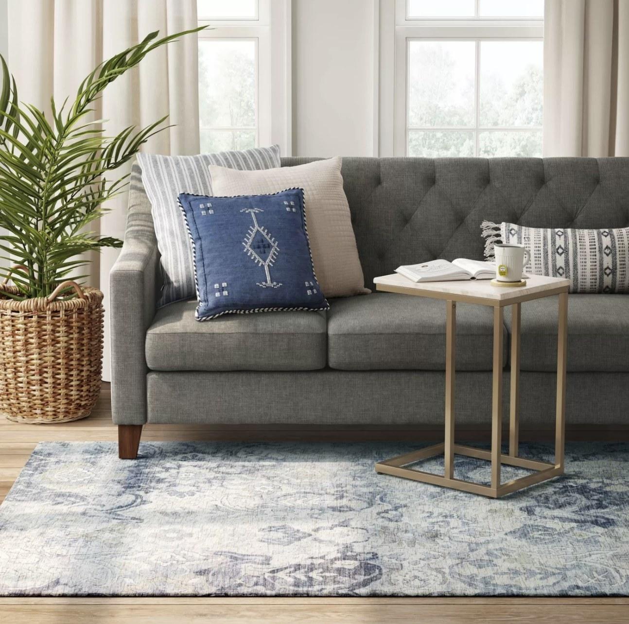 Rug in living room