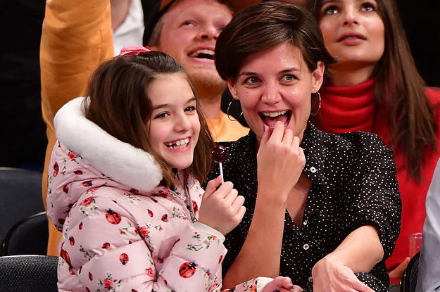 Katie Holmes Posted A Birthday Tribute For Suri And I Literally Can't Believe She's 15