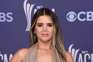 Maren Morris at the Academy of Country Music awards in April 2021