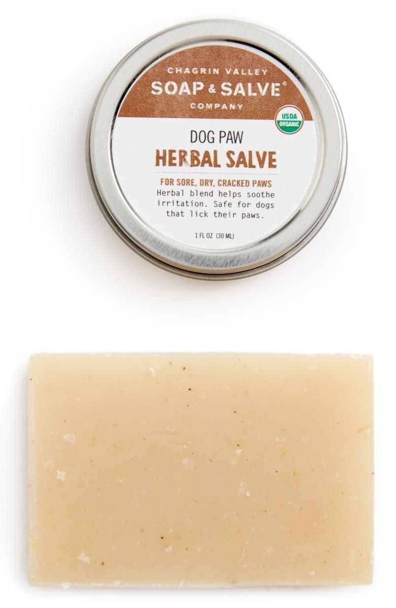 The shampoo and salve bar set