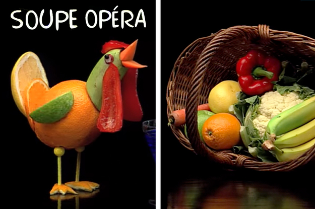 """For Everyone Who Remembers That Cooked Fruit And Veg Kids' Show Called """"Soupe Opéra"""""""
