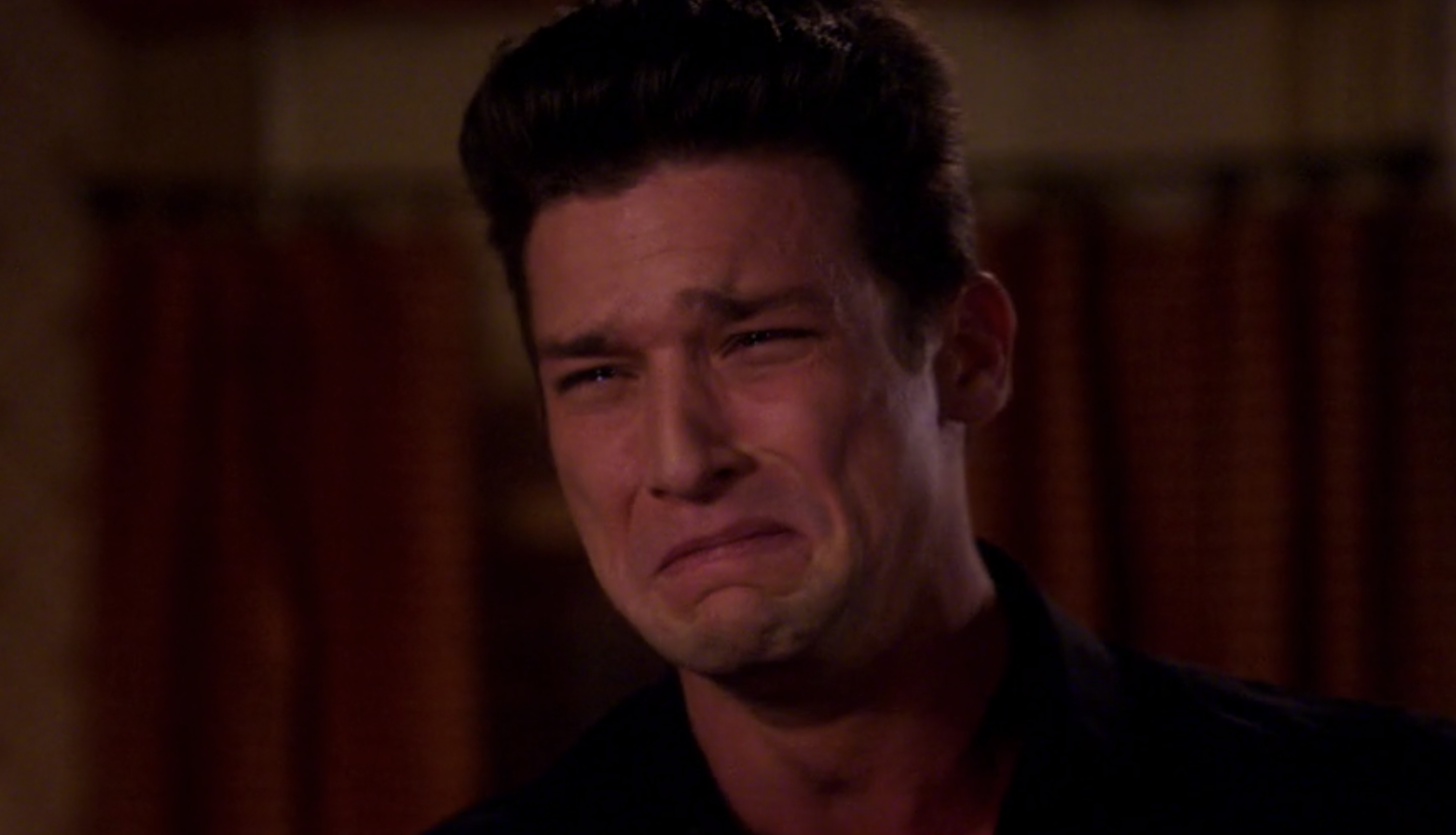 ricky ugly crying face