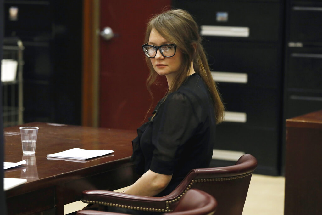The fake heiress in court