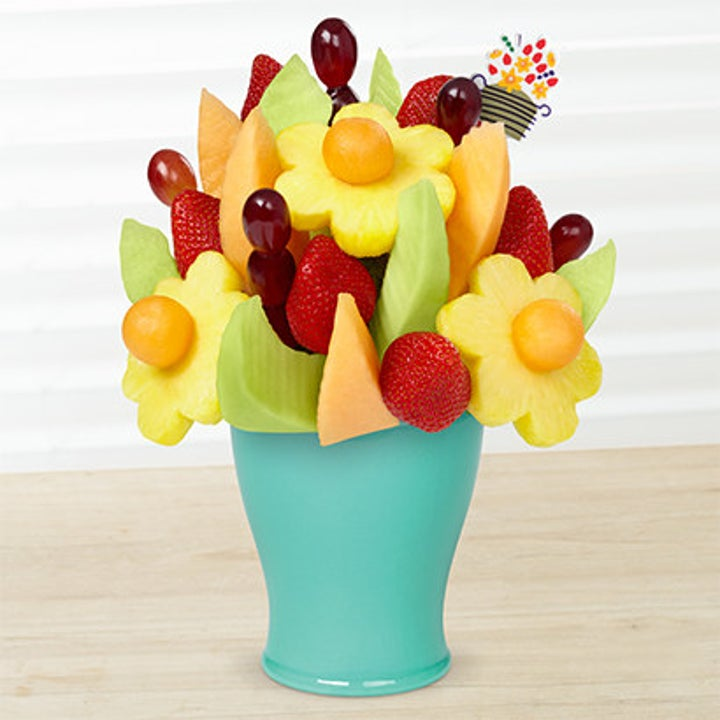 A bouquet made of fruits